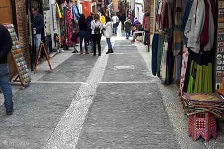 Granada, authenthieke souks