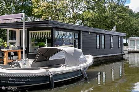 Vakantiehuis Nederland, Friesland, Langweer camper / jacht / woonboot Woonboot Langweer, unieke locatie!