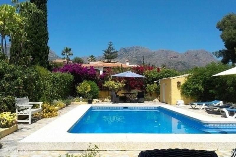 Vakantiehuis Spanje, Costa Blanca, La Nucia Villa Casa Miraval