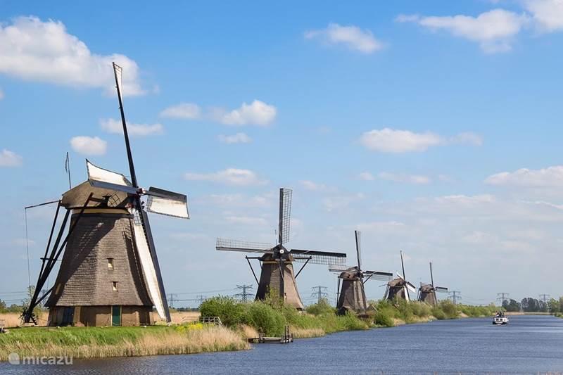 Vakantiehuis Nederland, Zuid-Holland, Alblasserdam Geschakelde woning Huisje de Molens