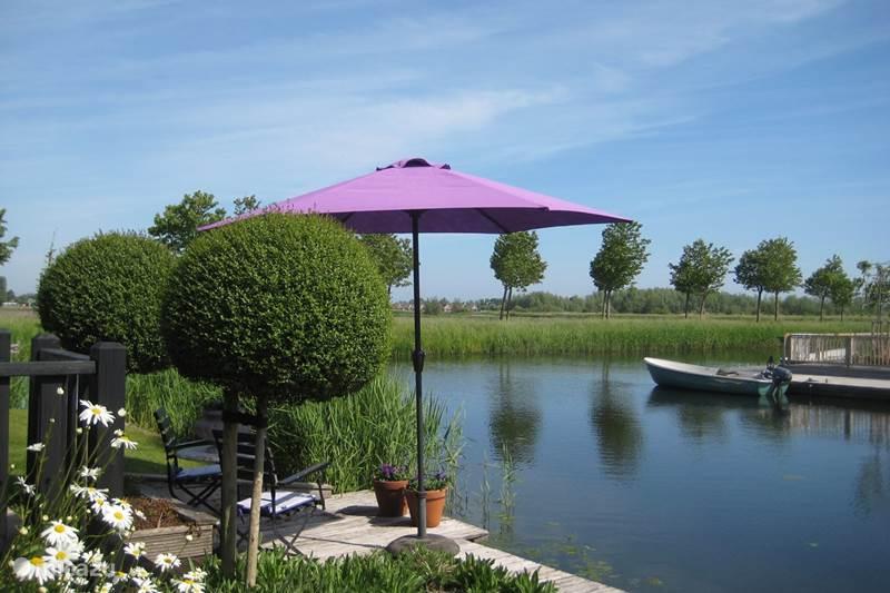 Vakantiehuis Nederland, Noord-Holland, Medemblik Vakantiehuis Vakantiehuis aan het water