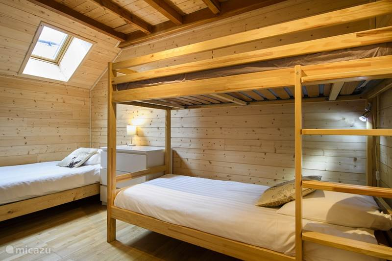 Vakantiehuis Frankrijk, Isère, Vénosc Bed & Breakfast Familiekamer (kamer 1)