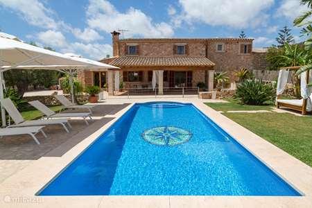 Vakantiehuis Spanje, Mallorca, Cala d`Or - finca Finca David