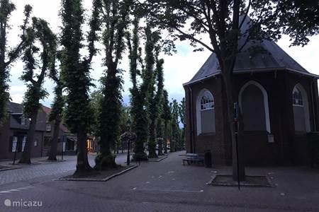 Protestants kerk op de markt