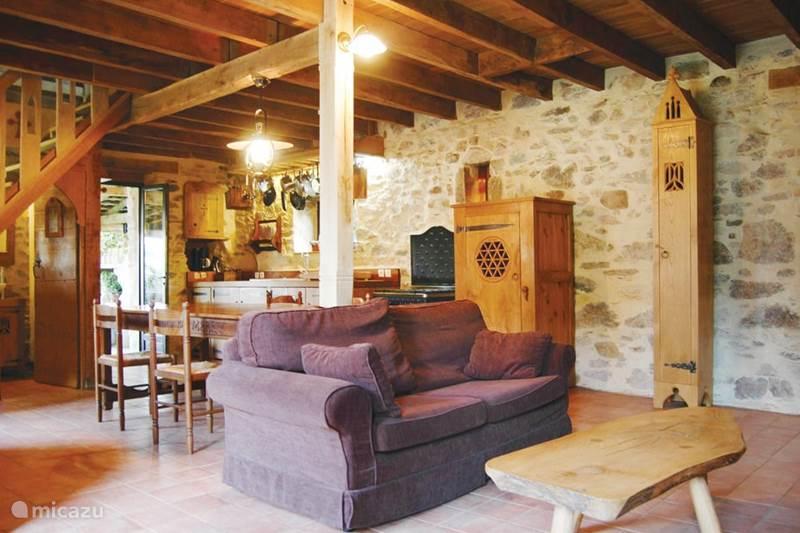 Vakantiehuis Frankrijk, Haute-Vienne, Château-Chervix Gîte / Cottage Cottage at Les Chambaudies Sud.
