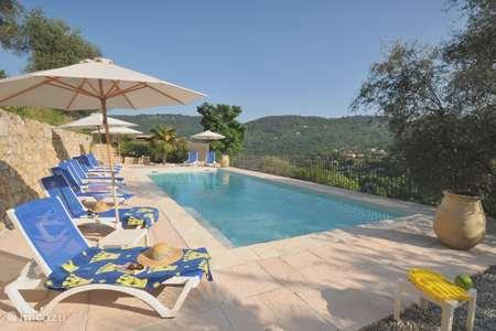Vacation rental France, Alpes-Maritimes, Le Bar-sur-Loup apartment La Bastide Saint Christophe