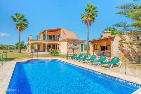 Vakantiehuis Spanje, Mallorca, Cala d`Or - villa Villa Deu Quarterades