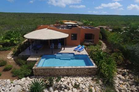 Vacation rental Bonaire, Bonaire, Sabadeco holiday house El Pueblo Diez Tres