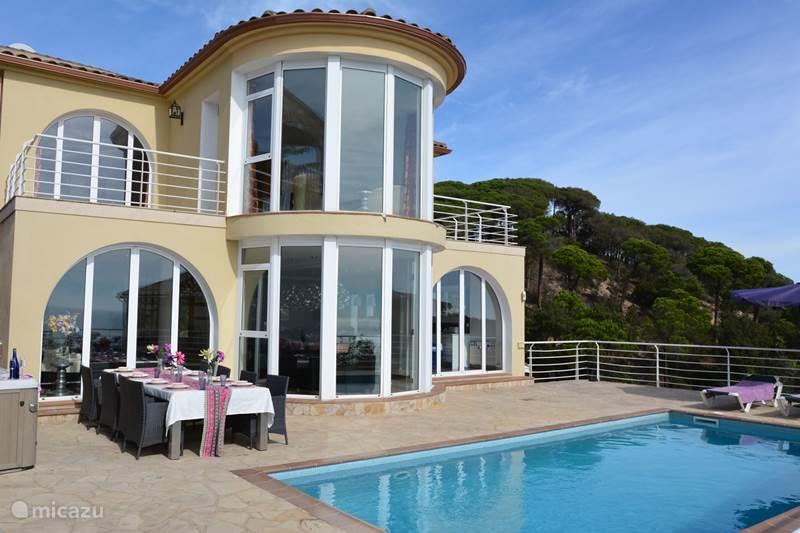 Vakantiehuis Spanje, Costa Brava, Lloret de Mar Villa Dali