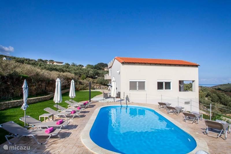 Vakantiehuis Griekenland, Kreta, Chania Villa Villa Chreal, volledig prive