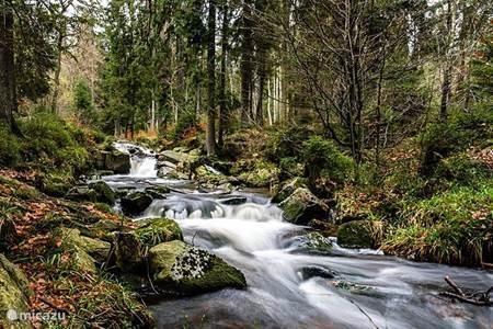 De rivier de Uffe Bad Sachsa