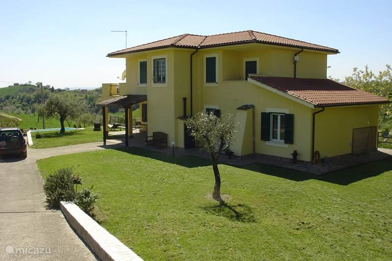 Vakantiehuis Italië, Lazio, Montebuono Appartement Villa Sabina