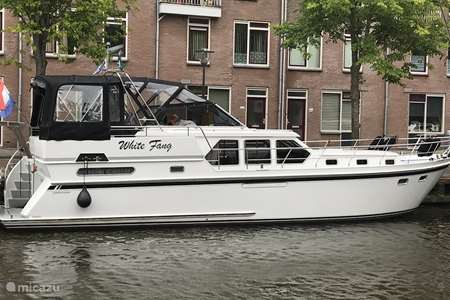 Vacation rental Netherlands, Friesland, Grouw rv / yacht / houseboat White Fang - Boating holiday