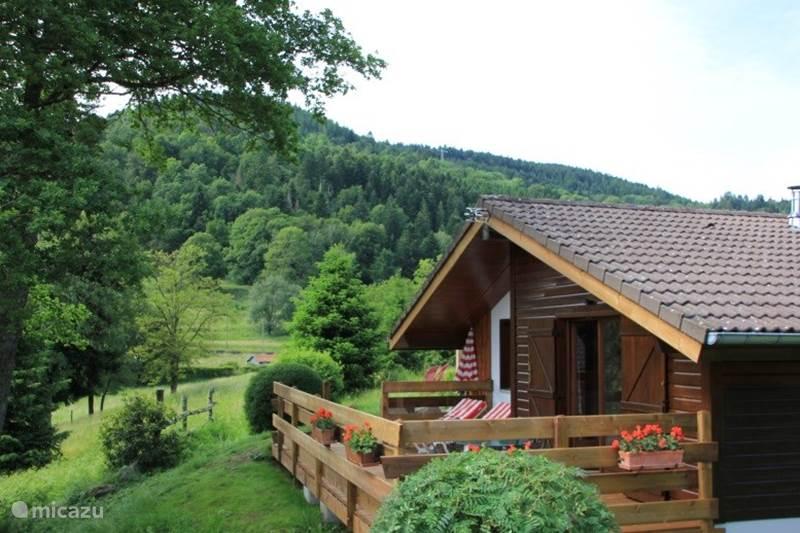 Vakantiehuis Frankrijk, Vogezen, Le Thillot Chalet Chalet 4/6 Personen 2 slaapkamers