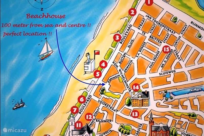 Vakantiehuis Nederland, Zuid-Holland, Katwijk Appartement Emma's Beachhouse