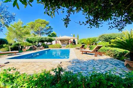 Vakantiehuis Spanje, Mallorca, San Joan finca Eco-Finca Sant Joan BBQ & Zwembad