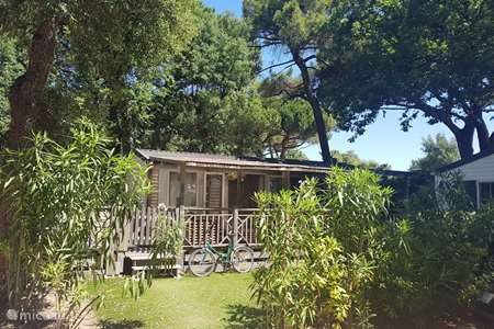 Vacation rental France, French Riviera, Ramatuelle mobile home Ramatuelle Beach Chalet