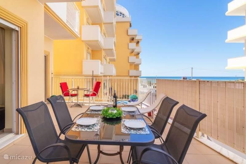 Vakantiehuis Portugal, Algarve, Armação de Pêra Appartement Ver O Mar