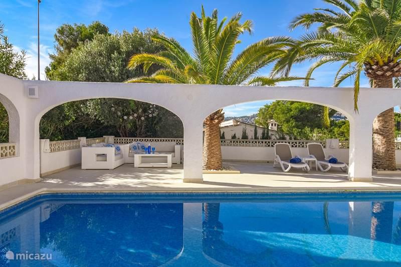 Vacation rental Spain, Costa Blanca, Moraira Holiday house Villa Delfin Azul