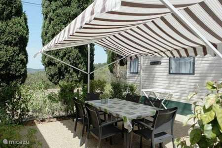 Vacation rental France, French Riviera, La Londe-les-Maures mobile home Parc Valrose ****