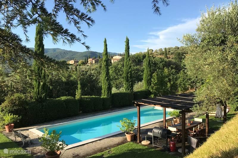 Vakantiehuis Italië, Toscane, Cortona Villa Casa del Castagno