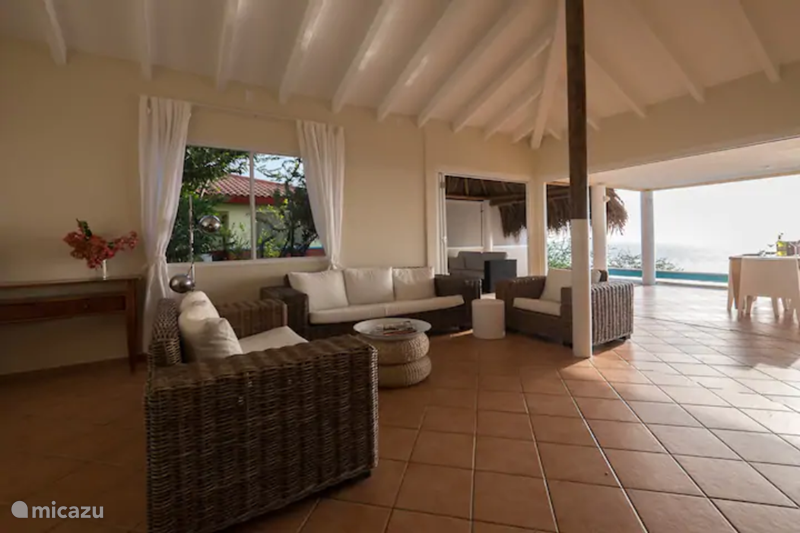 Vacation rental Curaçao, Banda Abou (West), Coral-Estate Rif St.marie Holiday house Sunny and beautiful sea view house