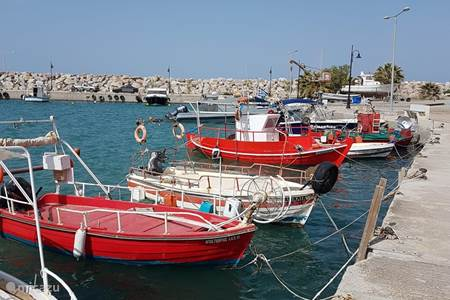 De stranden van Agia Galini