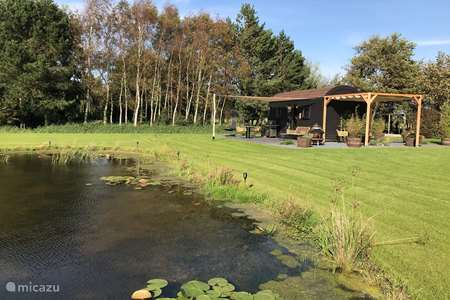 Vakantiehuis Nederland, Noord-Holland – blokhut / lodge Tiny House Woody