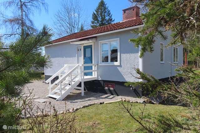 Ferienwohnung Schweden – ferienhaus Modernes Ferienhaus in der Nähe eines Sees