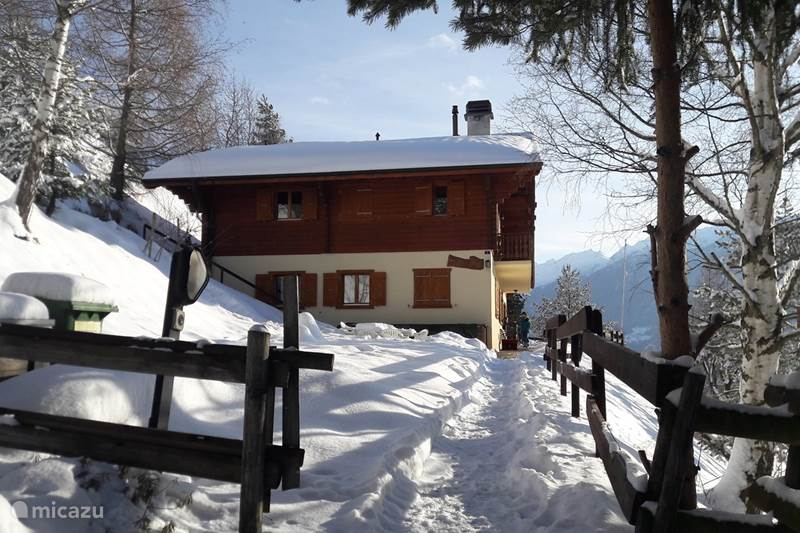 Vakantiehuis Zwitserland, Wallis, Veysonnaz Chalet Chalet Faigaux