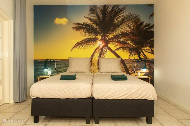 Vakantiehuis Bonaire, Bonaire, Kralendijk Studio Kas Espedajo - studio palmtree