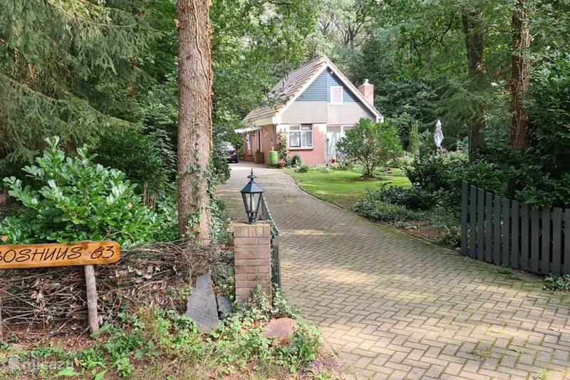 Vakantiehuis Nederland, Drenthe, Wateren Vakantiehuis Boshuis