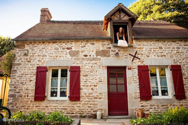 Vakantiehuis Frankrijk, Orne, Tanville Gîte / Cottage La Maison de Dame Holda