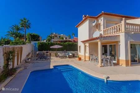 Vakantiehuis Spanje, Costa Blanca, Moraira - villa Villa Dali