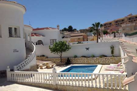 Vacation rental Spain, Costa Blanca, Ciudad Quesada villa Casa di Paddy