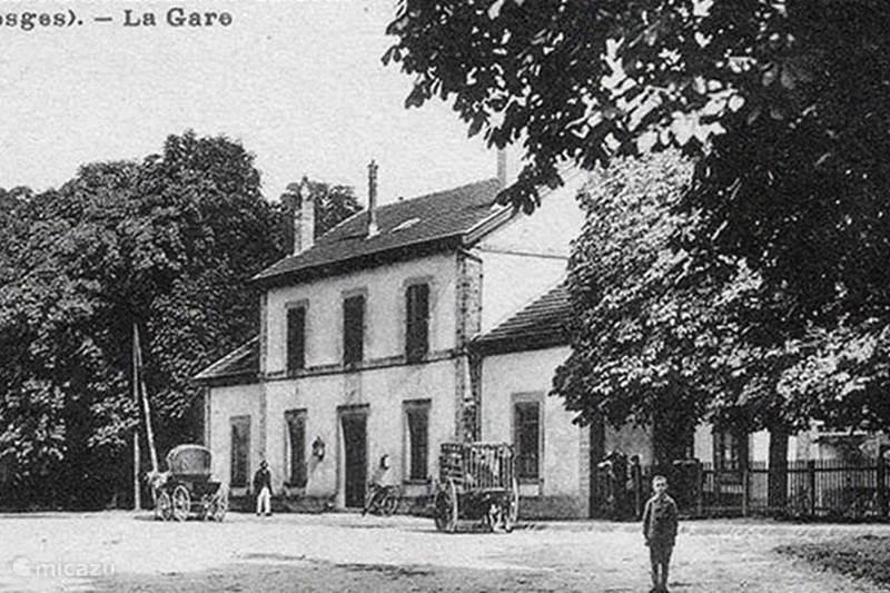Ferienwohnung Frankreich, Vogesen, Monthureux-sur-Saône Ferienhaus l'Ancienne Gare, die ganze Station
