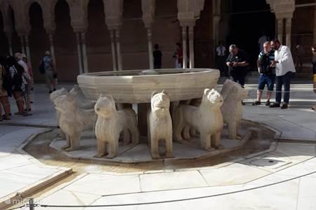 Alhambra - de leeuwenfontein
