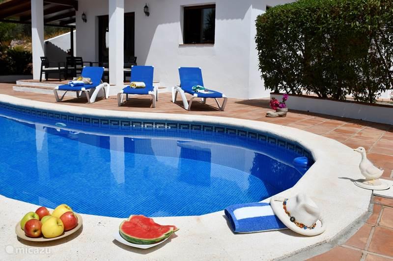 Vakantiehuis Spanje, Costa del Sol, Comares Villa Villa El Torcal 3