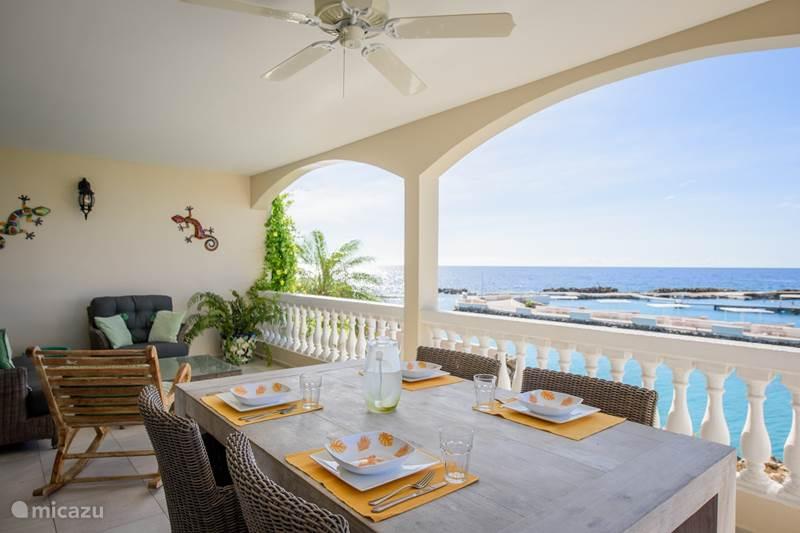 Vacation rental Curaçao, Banda Ariba (East), Mambo Beach Villa Tropical Lagoon