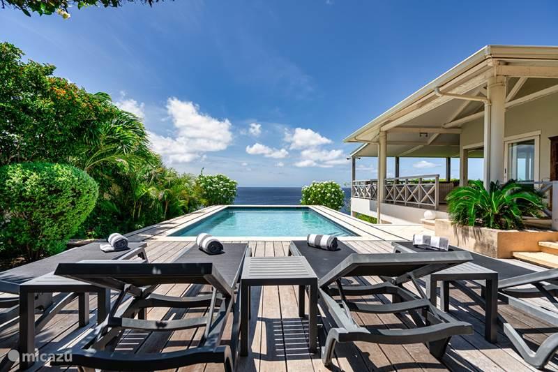 Vacation rental Curaçao, Banda Abou (West), Cas Abou Villa Villa di Toro