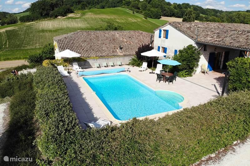 Vakantiehuis Frankrijk, Lot-et-Garonne, Massels Vakantiehuis Mandarre