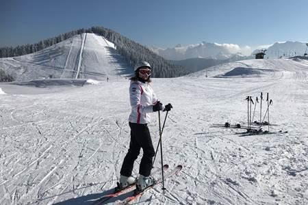 Skiing Dreiländereck