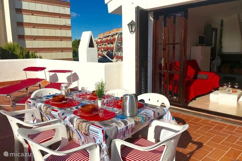 Vakantiehuis Spanje, Costa Dorada, Miami Playa Geschakelde woning La Casa Blanca