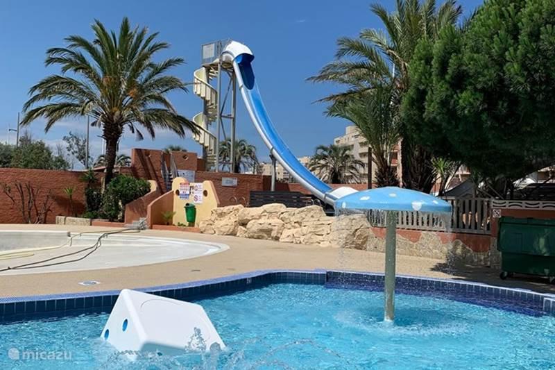 Vakantiehuis Frankrijk, Pyrénées-Orientales, Canet-en-Roussillon Bungalow Bungalow 3slp-directe toegang strand