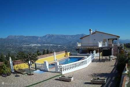 Vakantiehuis Spanje, Costa del Sol, Torrox villa Villa Melín ook voor grote groepen
