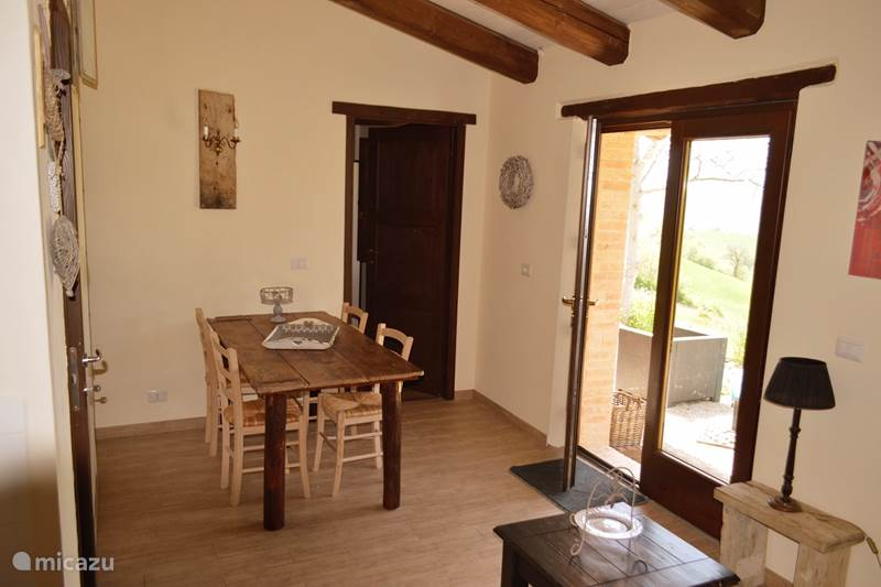 Vakantiehuis Italië, Marche, Penna san Giovanni Appartement Casa Vista - Villa Pilotti