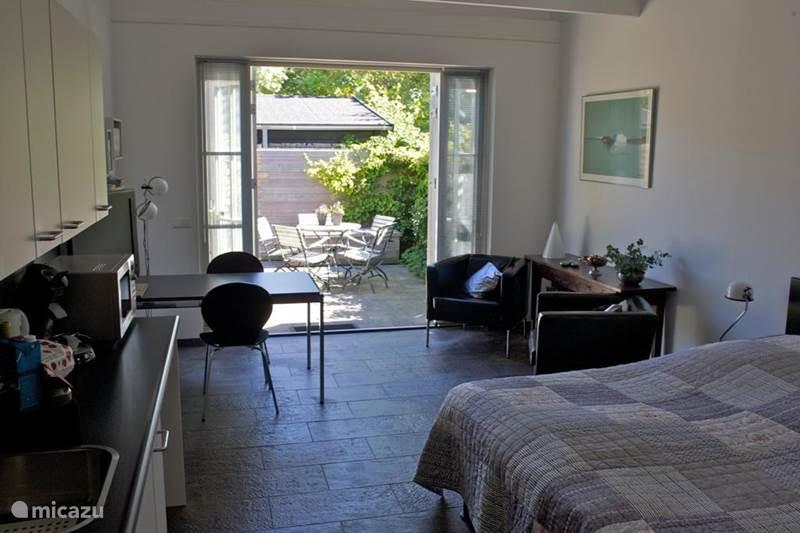 Vakantiehuis Nederland, Zeeland, Oostkapelle Studio Studio met terras aan de kust