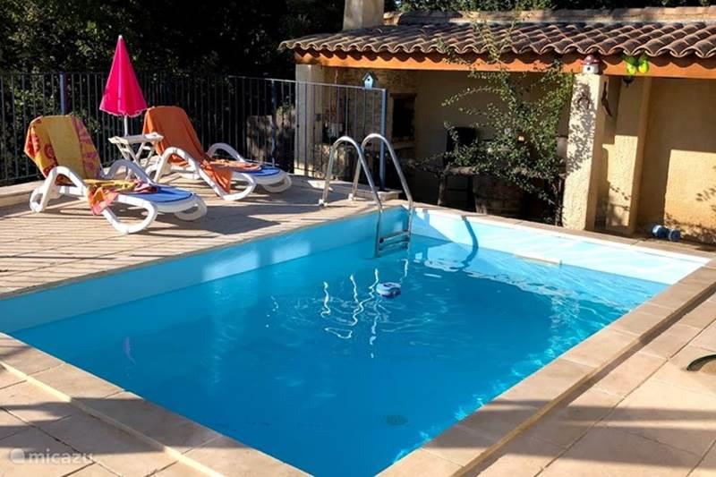 Vakantiehuis Frankrijk, Gard, Goudargues Vakantiehuis Huis in de zon