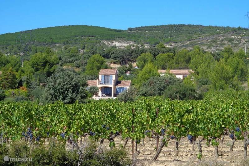 Vakantiehuis Frankrijk, Hérault, Siran-Najac Vakantiehuis Villa Vue sur les vignes