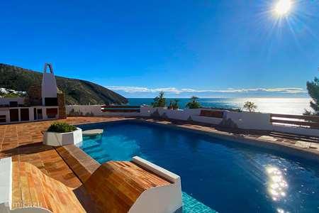 Vakantiehuis Spanje, Costa Blanca, Moraira villa Casa del Flamboyan